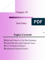 PPT Debt policy