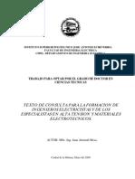 Juan Almirall Mesa - Texto de Consulta Para La Formacion de Ingenieros Electricistas