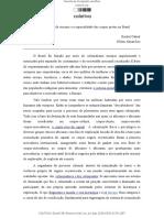A naturalização do racismo e a espacialidade dos corpos pretos no Brasil