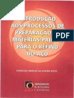 PDF 347842155 Rizzo Abm Introducao Aos Processos de Preparacao de Materias Primas Para o Refino Do Aco Pdfpdf Compress