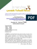 Metzora Parashat # 28 Adul 6011