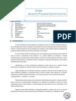 IV DERECHO PROCESAL CONSTITUCIONAL