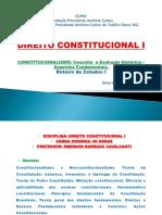 Roteiro de Estudos I - Direito Constitucional I - Agosto de 2021