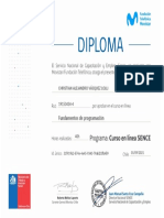 FT Movistar y SENCE - Diploma 40h