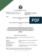Renvoi relatif à la Loi sur la non‑discrimination génétique. Jugements de la Cour suprême, 10 juillet 2020