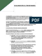 LA DESCOLONIZACIÓN. EL TERCER MUNDO. 2003