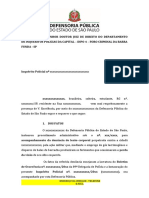 Modelo Petição oitiva    comandante  IP