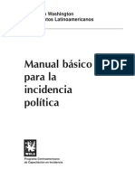 Manual Incidencia Política