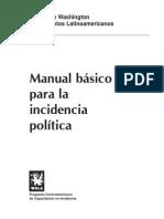 Manual Incidencia Política