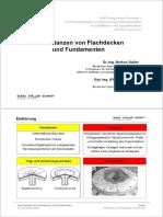 Durchstanzen von Flachdecken und Fundamenten - PDF Free Download