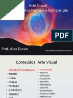 Elementos formais e composição Arte Visual