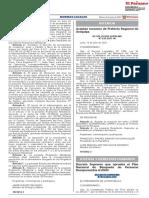 Decreto Supremo N°011-2021-JUS