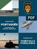 EEAR PORTUGUÊS - Ex. - Fonética e Fonologia (1)-2