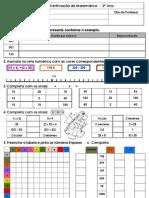 Ficha de Verificação de Matemática 2º C