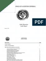 RCSD Audit Adult Education