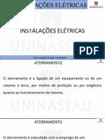 INSTALAÇOES ELETRICA AULA 04