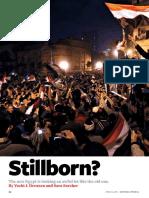 Stillborn? (Foreign Affairs article by  Yochi Dreazen and Sara Sorcher)