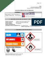 MSDS del Pegamento para PVC