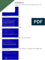 Tutorial de instalação do Windows XP