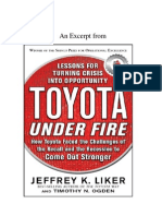 Toyota Under Fire Excerpt