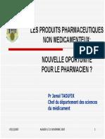 Produits Pharmaceutiques Non Medicamenteux