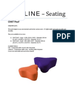 CHAT Pouf Specifications