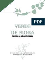 1 Planner Verde de Flora 2021 Carolayne Ramos