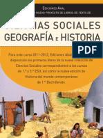 Ciencias sociales / Ediciones Akal
