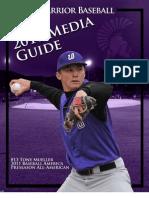 2010-11 Winona State Baseball Media Guide