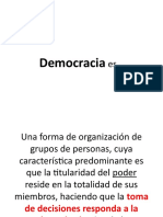 Sr. Miro Quesada ¿Qué chucha es democracia?