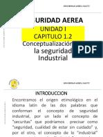 SEGURIDAD AEREA UNIDAD I CAPT 1.2 Conceptualizacion de La Seguridad Industrial