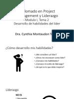 Desarrollo de habilidades de liderazgo_Cynthia