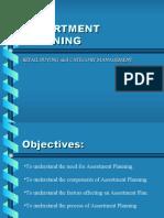 assortment planning