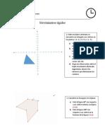 Examen 1 de Geometría Noveno