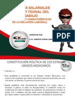 ASPECTOS SALARIALES DE LA LEY FEDERAL DEL TRABAJO (CONTRATOS Y CARACTERÍSTICAS DE LA RELACIÓN LABORAL)