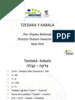 kabala y Tzedaka