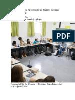 O papel da escola na formação do Jovem