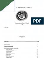 RCSD Audit P-card