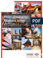2011-q1 Emerging Markets Index Report - Embargoed Final Until 06.30 Uk, 7 April 2011 - HSBC