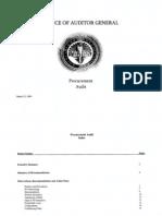 RCSD Audit Procurement