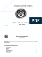 RCSD Audit Student Activity Funds