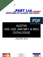 A35 Catalogue