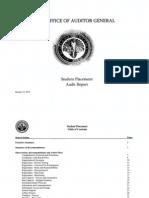 RCSD Audit Student Placement