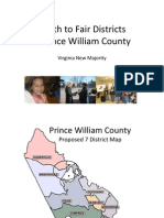 Comms- PWC redistricting ppt