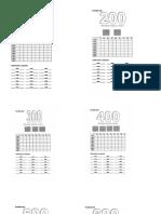Numeracion Hasta El 900 Antecesor Sucesor y Secuencias