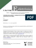 Institucionalismo e Custos de Transação - RAE (Bronzo-2005)