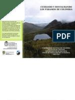 Cartilla_Cuidando y restaurando los páramos de Colombia_2011