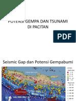 Potensi Gempa Tsunami