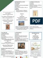 II Jornadas de Lenguas y Cultura Clásicas