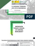 Tatalaksana Terbaru Covid-19 September 2021
